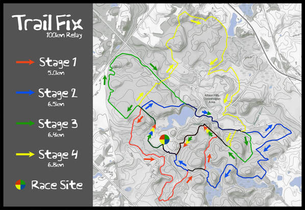 Trail Fix Course Map